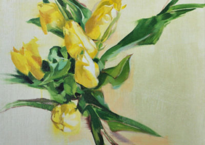 TULPEN | Oil on canvas | 60x50cm